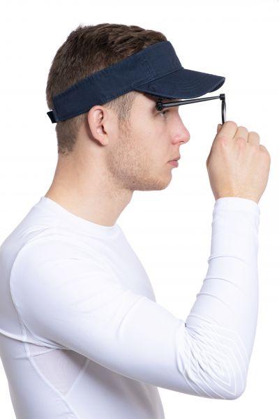 Ruderspiegel Third Eye mit Sonnenschirm