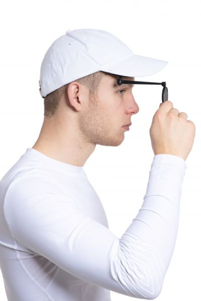 Ruderspiegel Third Eye mit Mütze